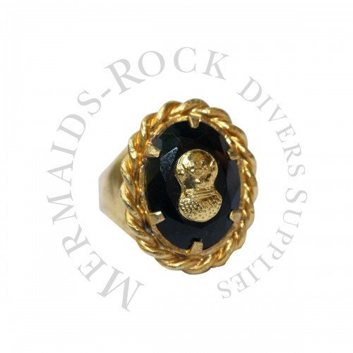 Sterling Silver Ring, Us Navy