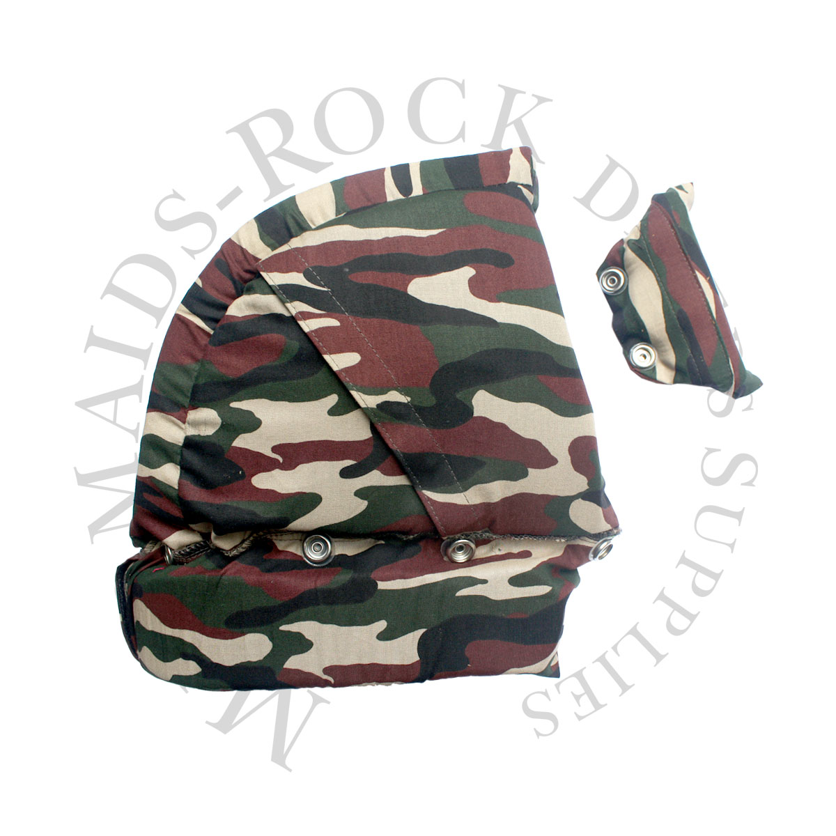 Commercial Diving Hat Liner Snow Camouflage